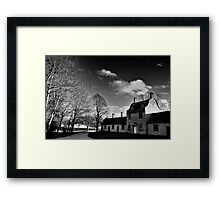 Great Linford Mono Framed Print