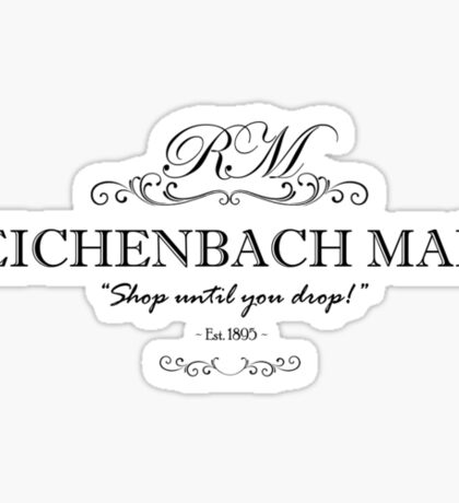 Reichenbach Mall Sticker