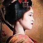 Portrait of Geisha by Przemysław Bródka