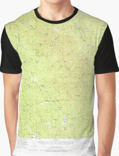 USGS Topo Map Oregon Desolation Butte 282414 1951 62500 Graphic T-Shirt