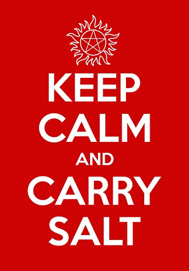 Keep Calm and Carry Salt by lonelyrainbows