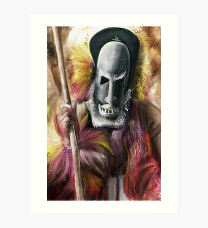 Tribal Warrior Art Print