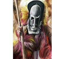 Tribal Warrior Photographic Print