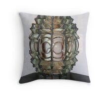 Lighthouse optics Throw Pillow