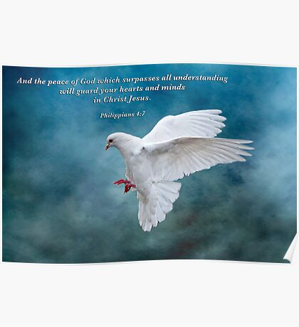 The Peace of God which surpasses all understanding . . . Poster