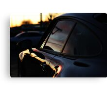 Air-Cooled when the sunrise's and fall's Canvas Print