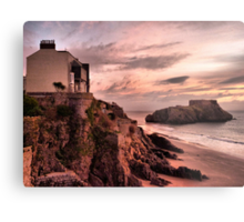 Sunrise on St Catherines Island. Metal Print
