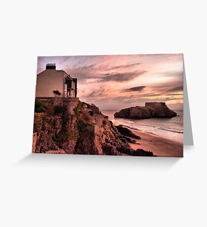 Sunrise on St Catherines Island. Greeting Card