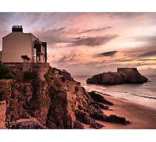 Sunrise on St Catherines Island. Photographic Print