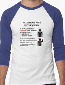Captain Dons Cap Men's Baseball ¾ T-Shirt