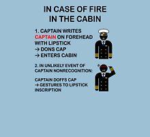 Captain Dons Cap Unisex T-Shirt