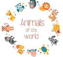 Animals of the world by alee7spain