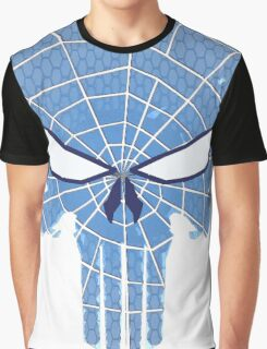 SpiderPunisher in Blue 2 Graphic T-Shirt