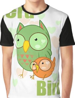 Nerd Bird Graphic T-Shirt