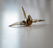 Paper Crane III by Linda Pettersson