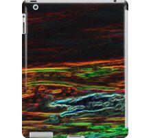 neon sky iPad Case/Skin