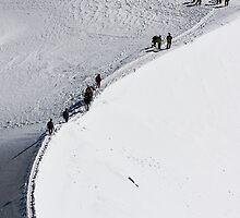 Climbing Mont Blanc by ubersoldat