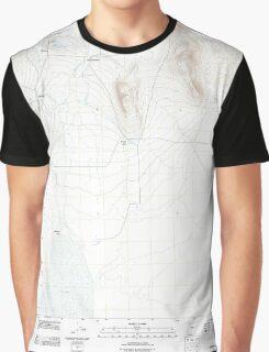 USGS Topo Map Oregon Andrews 20110818 TM Graphic T-Shirt
