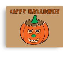 Jack O Lantern - Halloween Pumpkin Canvas Print