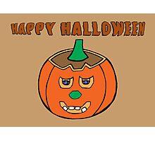 Jack O Lantern - Halloween Pumpkin Photographic Print