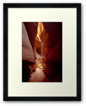 Antelope Canyon Summer Light Fall by photosbyflood