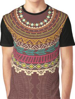 Ethnic Aztec circle ornament Graphic T-Shirt