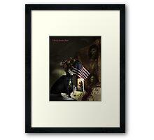 Liberty Lighter Framed Print