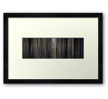 Moviebarcode: North by Northwest (1959) Framed Print