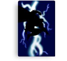 The Dark Knight Returns Canvas Print