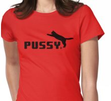 pussy cat Womens Fitted T-Shirt