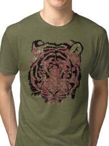Myanmar Ancient Tiger Tri-blend T-Shirt