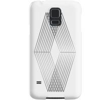 Minimal Work Black Samsung Galaxy Case/Skin