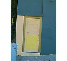 Kooky Crooked Door Photographic Print