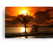 Pacific Ride Canvas Print