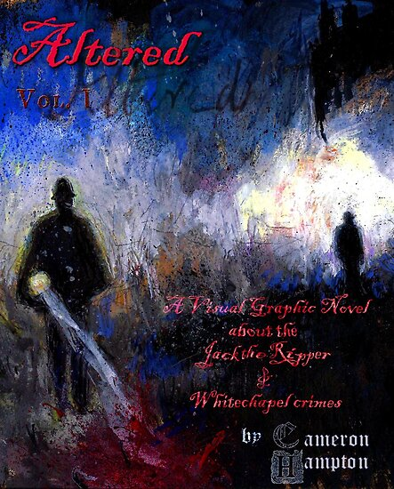Altered, Final Cover Design by Cameron Hampton