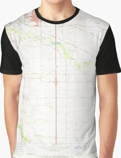 USGS Topo Map Oregon Tangent 281752 1969 24000 Graphic T-Shirt