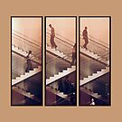 The Staircase (Beige) by Zohar Lindenbaum