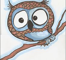 Blue Owl by Kat Anderson
