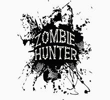 Zombie Hunter black grunge T-Shirt