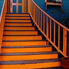 Welcome Home Staircase by Jane Underwood