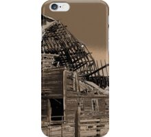 barely surviving iPhone Case/Skin
