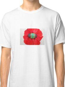 Mandala Designed easter eggs stone Classic T-Shirt