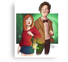 11th and Amy Canvas Print