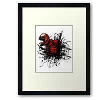 SON of Spider Symbiote Framed Print