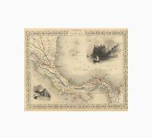 Vintage Map of Panama (1851)  Unisex T-Shirt