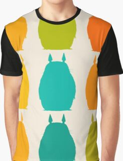 Totoro colors Graphic T-Shirt