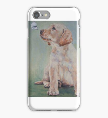 Labrador Retriever Fine Art Painting iPhone Case/Skin