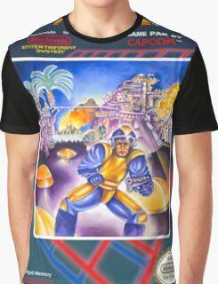 Mega Man 1 nes  Graphic T-Shirt