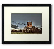 Tewkesbury Abbey Framed Print