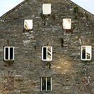 Irish Barn Windows  by Fara